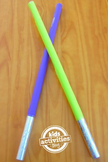 Wrapping Paper Roll Light Saber