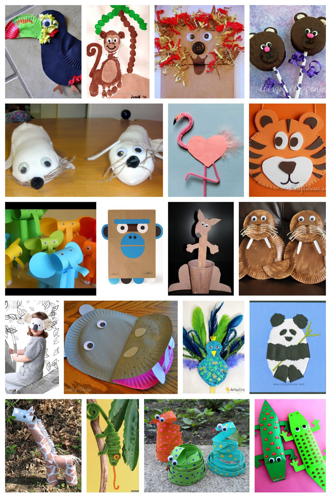 25 Wild and Fun Animal Crafts Your Kids Will Love