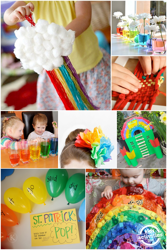 21 Rainbow Crafts & Activities To Brighten Your Day