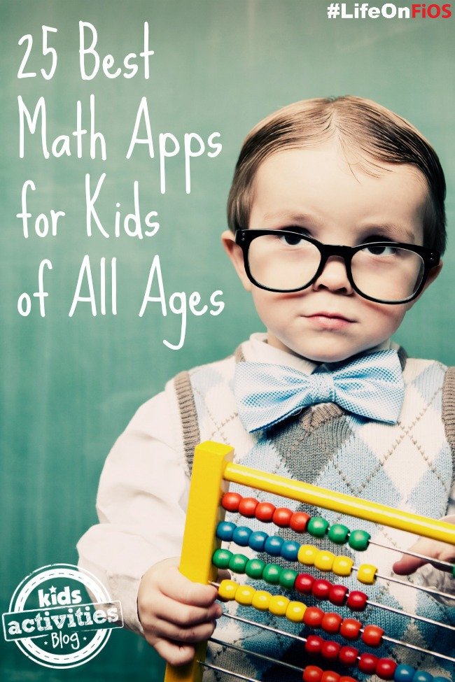 25 of the best math apps with use on technology like tablets and phones