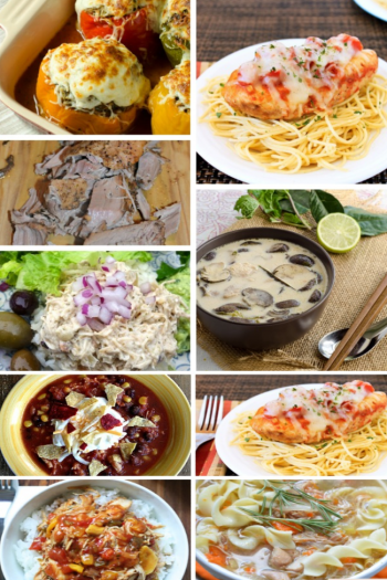 25 healthy crock pot recipes