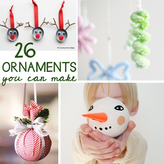 how to make homemade ornaments that your family will love