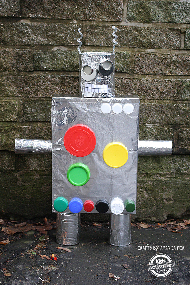 How to Make a Recycled Robot