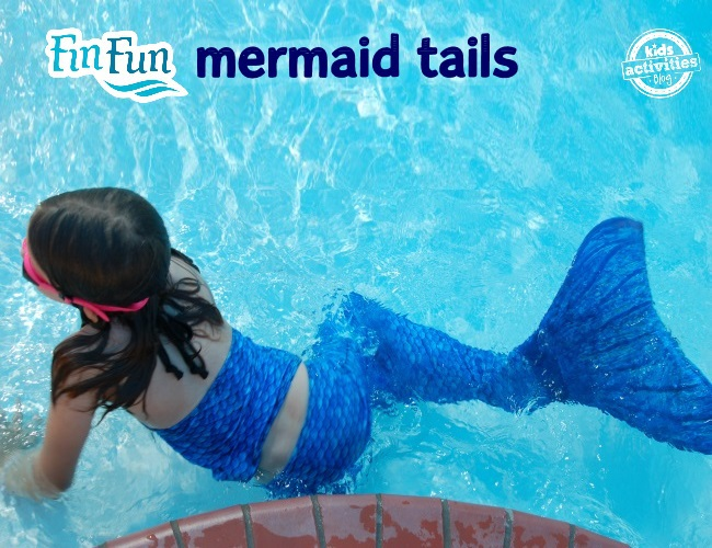 Mermaid tails that your kids can actually swim in
