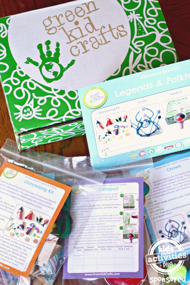 Green Kid Crafts Subscription Box for Kids