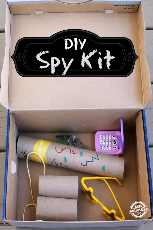 Spy Kit in a box