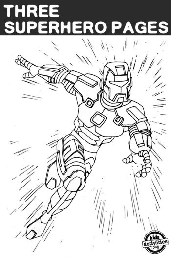 Iron Guardian coloring page