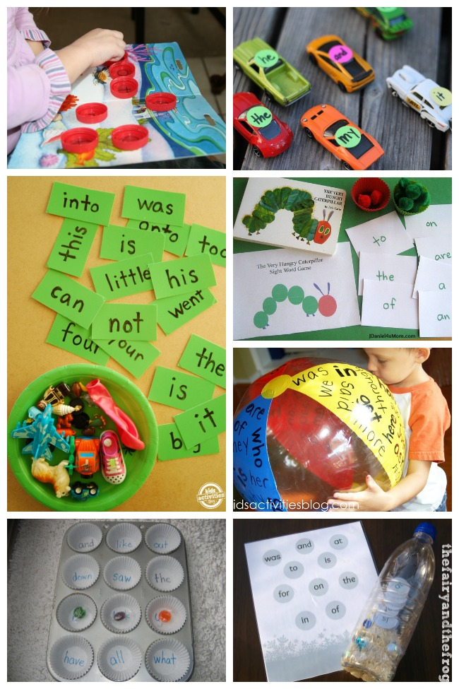 100 Fun Sight Words Activities To Help Your Kids Read Faster