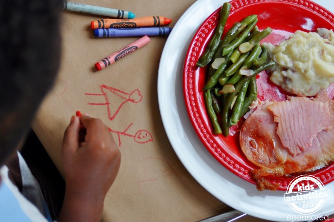 Table Activities for Christmas Dinner - Kids Activities Blog