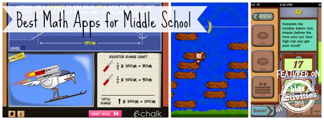 Best Math Apps for Middle School