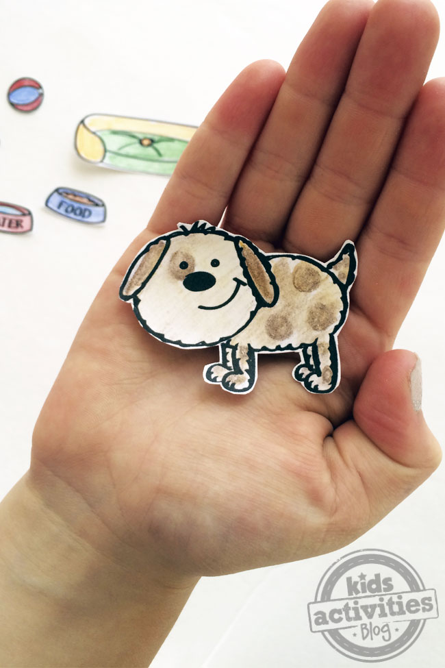 Design Your Own Paper Doll Pet Printable