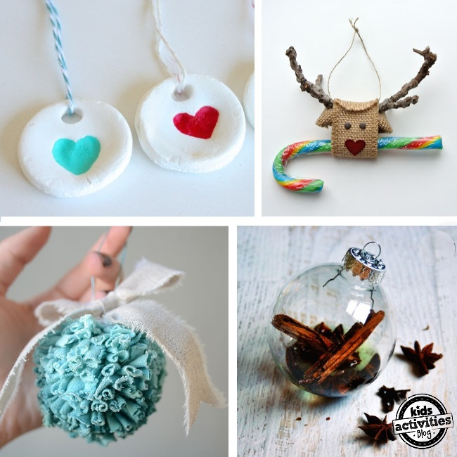 easy Homemade ornament ideas for you to make
