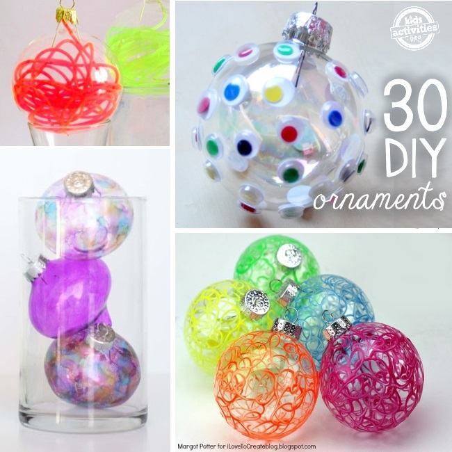 fun and funky ornaments you can make