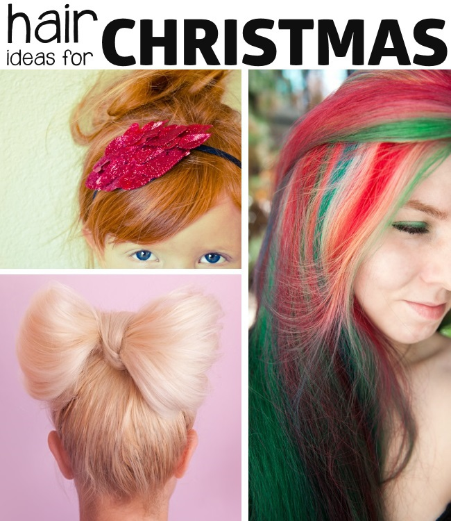hair ideas for Christmas