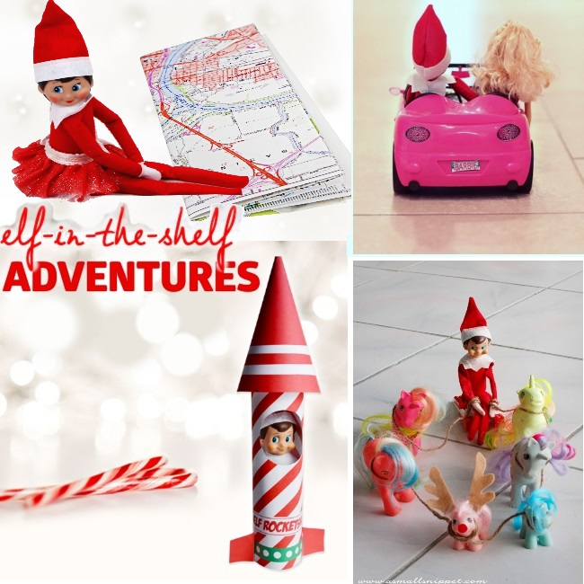 ideas for elf in the shelf adventures