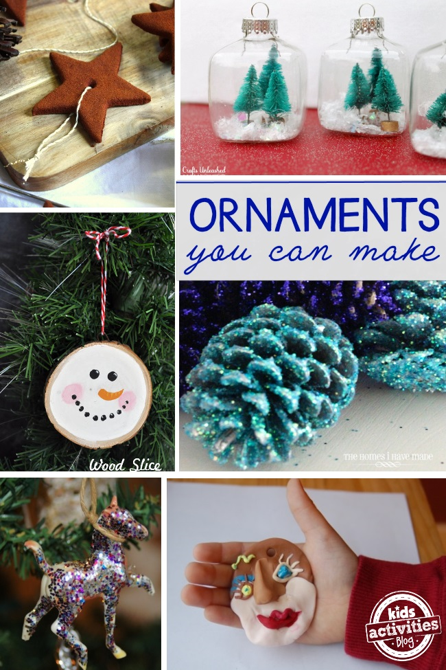 These homemade ornaments are amazing. The glittery pine cone ones are my favorite, though the snow globe ornament is beautiful. But the apple sauce and cinnamon ornaments are also beautiful.