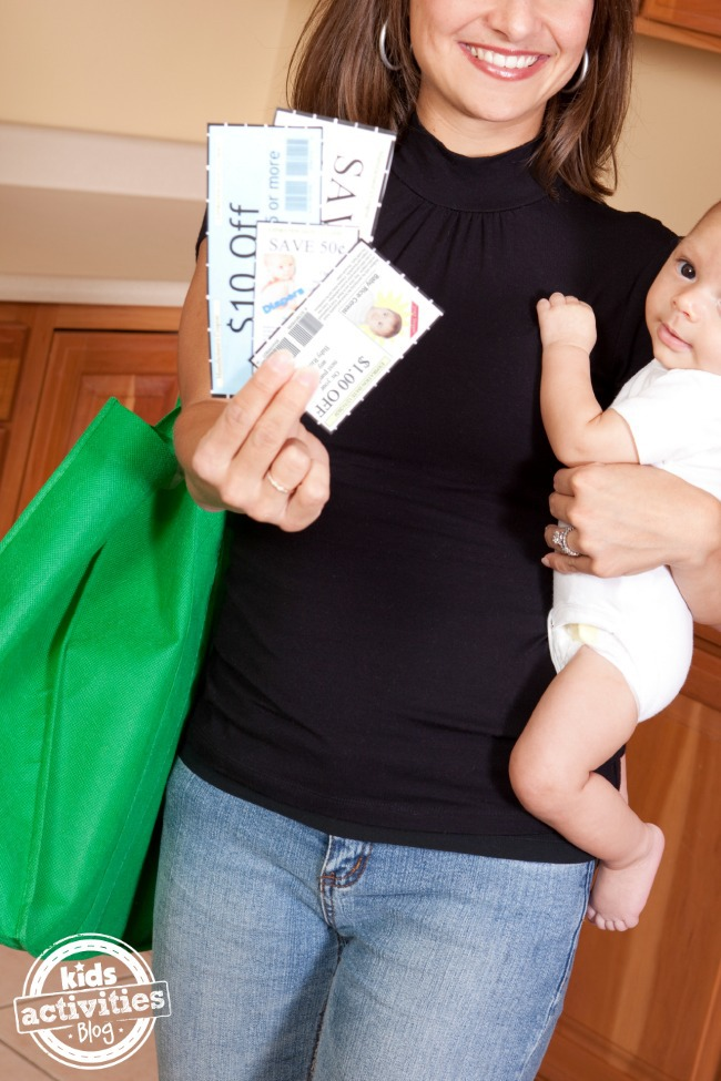 Save money as a stay at home mom
