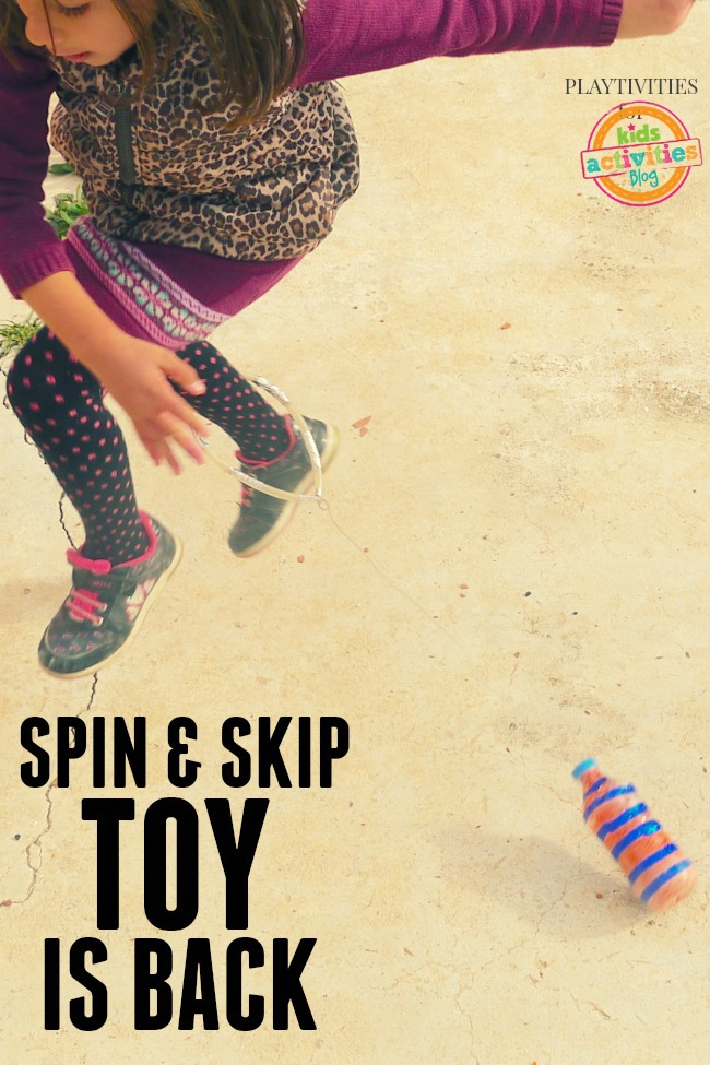 sping and skip toy