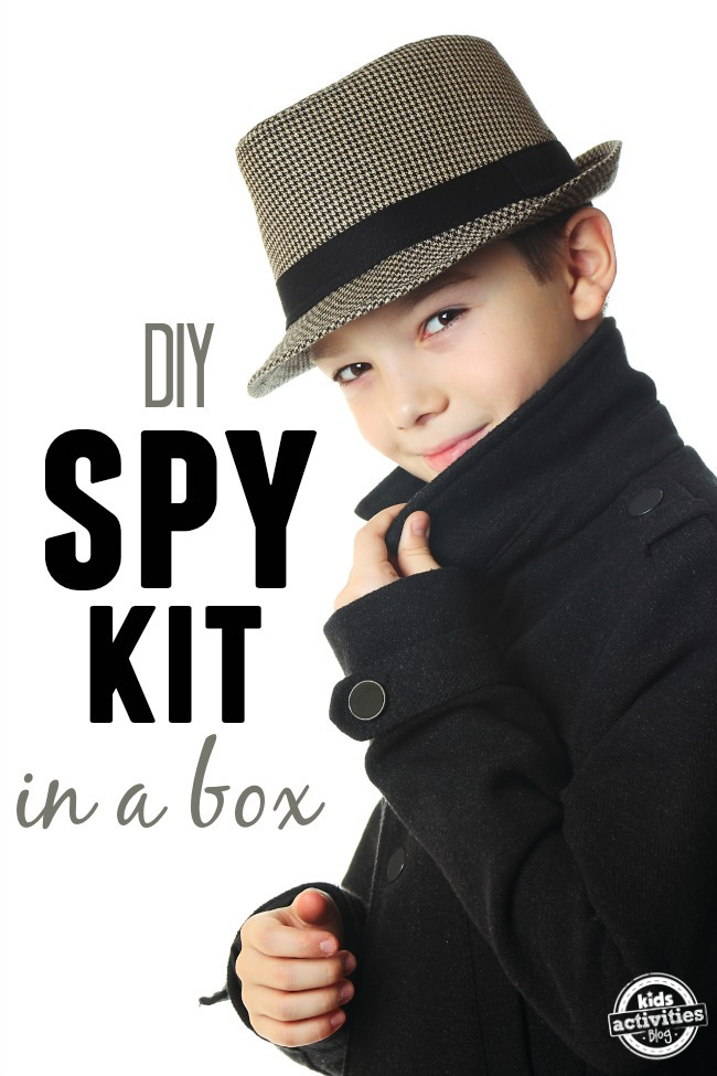 DIY spy kit in a box