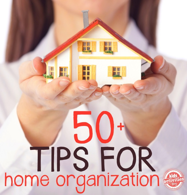 tips for home organization