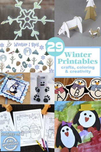 29 Winter Printables