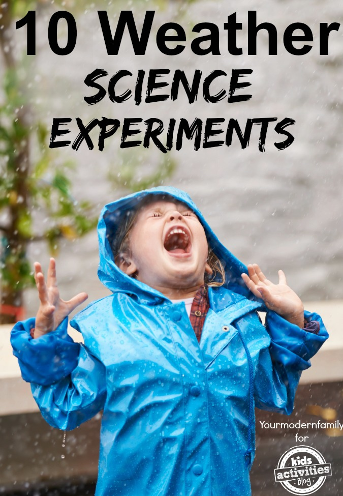 10 weather science experiments