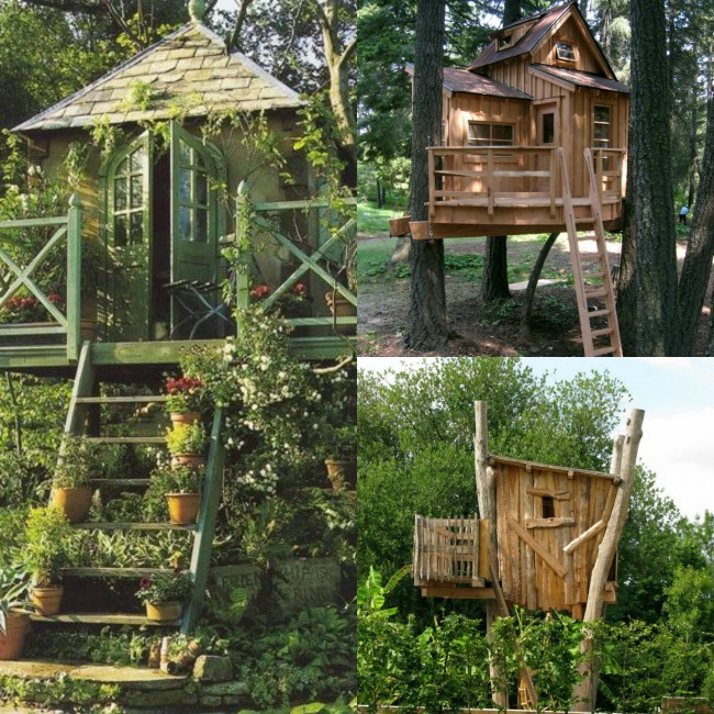 Backyard Tree houses - Kids Activities Blog