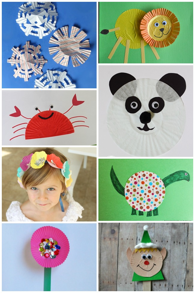 50+ Creative Cupcake Liner Crafts