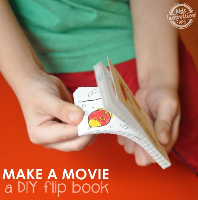 how to make a movie with a flip book