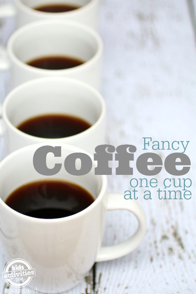 Fancy Coffee one cup at a time - Kids Activities blog
