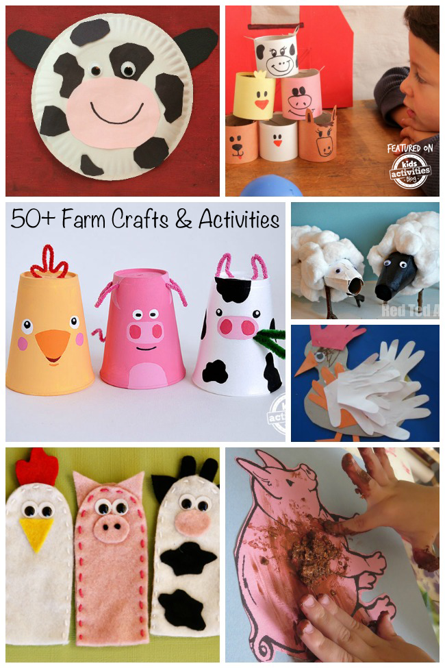 50+ Fun Farm Crafts & Activities