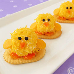 Mini Cheese Ball Chicks