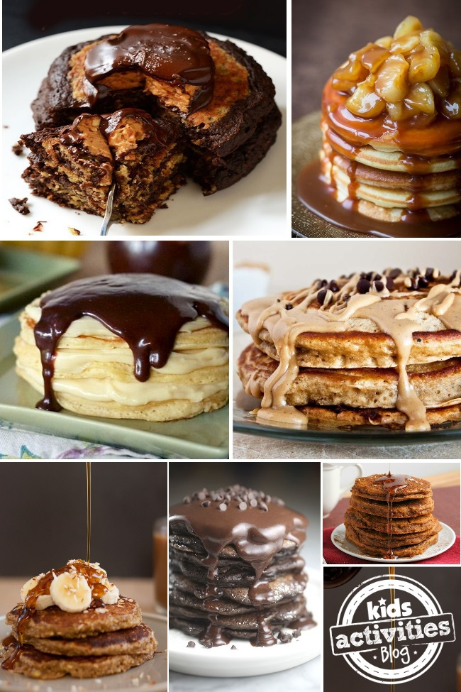 LOTS of pancake recipes