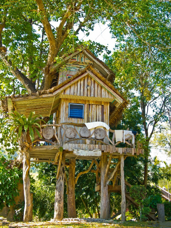 Two story tree house - Kids Activities Blog