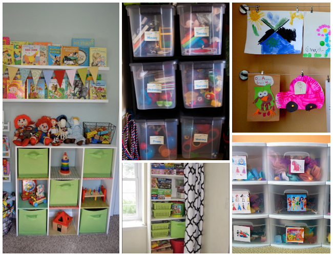 Tips and Advice for Organizing Toys