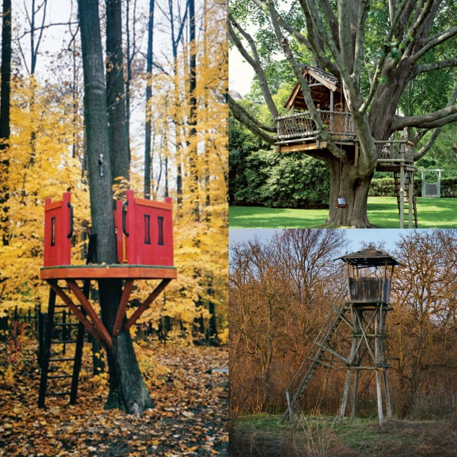 Tree Houses in the Forest - Kids Activities Blog