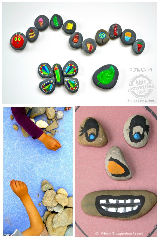 activities for kids with rocks
