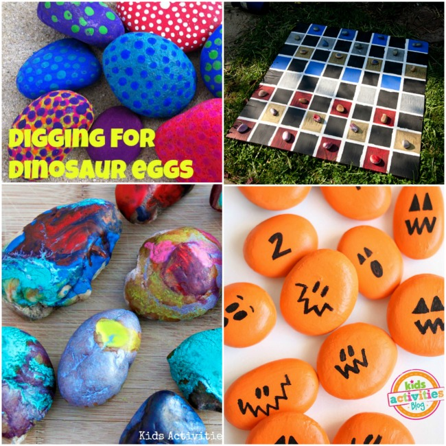 activities with rocks for kids