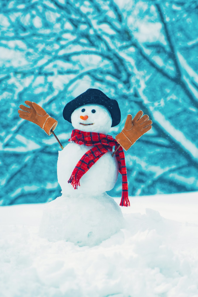 25 Ideas for Playing with Snow Inside and Outside
