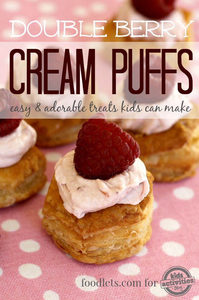 double berry cream puffs 3