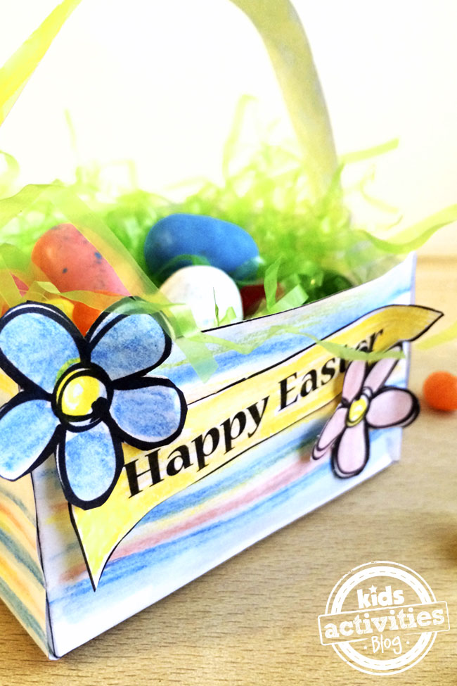 Add the Happy Easter banner to your basket