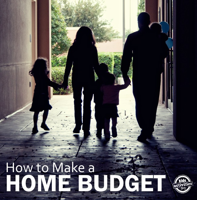 how to make a home budget that really works