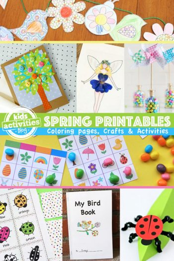 Printable spring activities