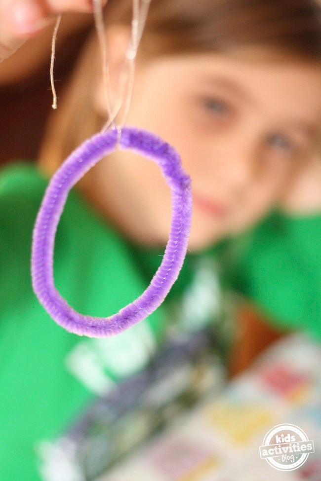 purple O pipecleaner