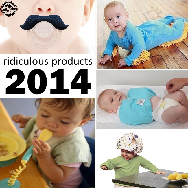 wacky baby products you could buy in 2014
