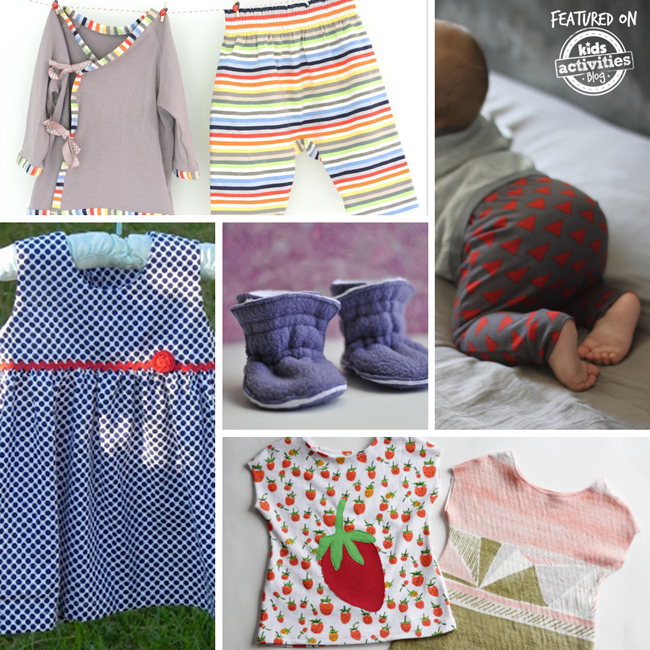 sew baby clothes