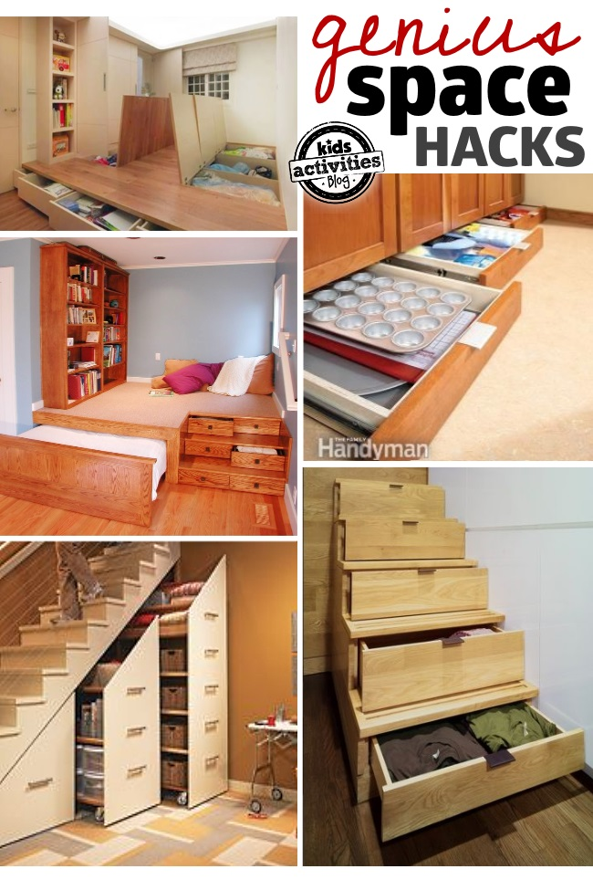 small space organization solutions