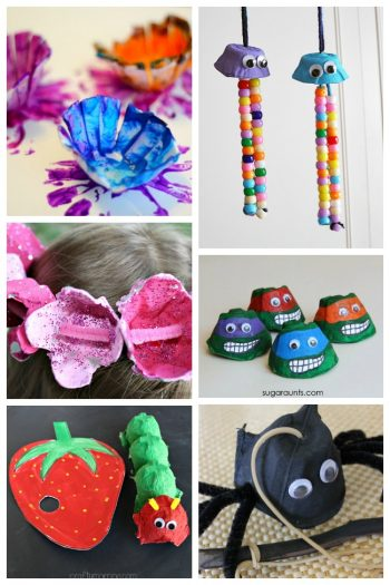 50 Amazing Egg Carton Crafts