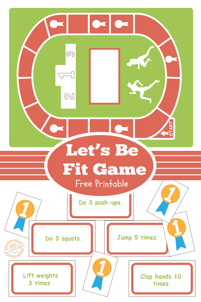 Let's Get Fit Board Game