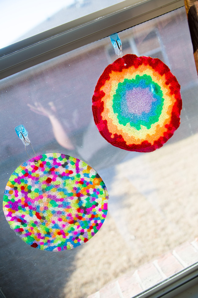 Let's Make a Melted Bead Suncatcher On The Grill